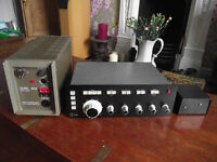 Quad 303 Power Amplifier and Professional Quality Calrec Control Unit
