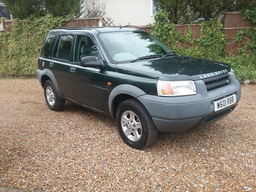 2000/W REG LAND ROVER FREELANDER XEDI, 2.0 DIESEL, 5 DOOR, GREEN