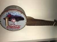 Tinkulele which is like a ukulele but made out of a biscuit tin