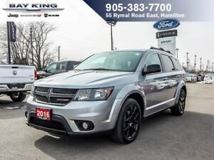 2016 Dodge Journey BLACKTOP, DVD, 7 PASSENGER, HTD SEATS, REMOTE