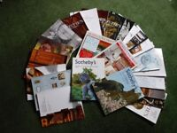 JOB LOT OF CHRISTIE'S, SOTHEBY'S AND ARCHITECTURAL DIGEST