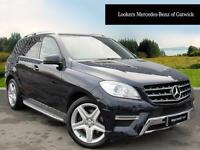 Mercedes-Benz M Class ML250 BLUETEC AMG SPORT (blue) 2014-03-31