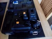 Charger +2 battery's for power craft cordless drill