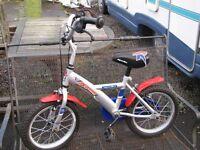 For Sale Child's Apollo Rocketman 14 inch bike
