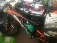 Boardman mountain bike with full suspension