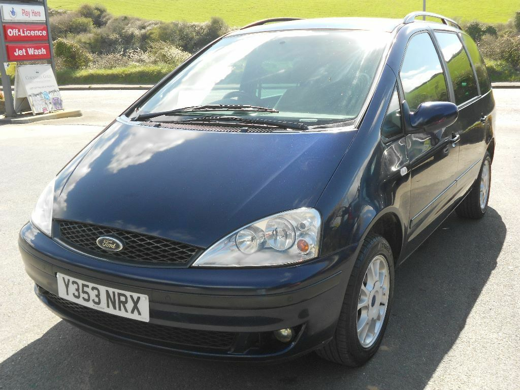 Ford galaxy 1 9 tdi zetec 7 seater turbo diesel 6 speed manual