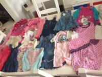 Baby girls clothing bundle age 12-18, 18-24 mths, can post, size details on pictures, 22 items