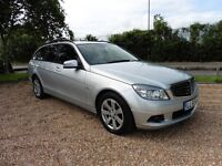 Mercedes-Benz C Class 180k 1.6 Blue/Efficiency Automatic (immaculate sterling silver) 2009