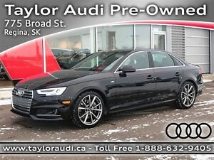 2017 Audi A4 2.0T Technik,  EXECUTIVE  DEMO, FULL LOAD