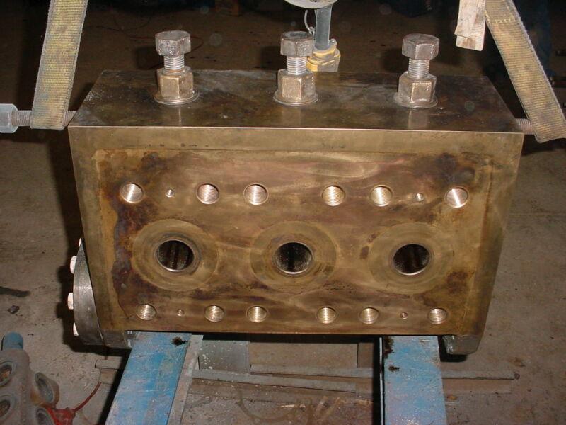 NOV ( National ) 165T-5H , aluminum bronze fluid end ( good used )