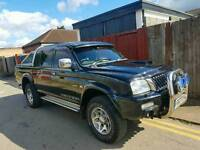 1 OWNER MITSUBISHI L200 WARRIOR, 2004, 4 WHEEL DRIVE, FULLY LOADED ONE OFF TRUCK!