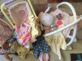 Baby Annabell doll, clothing and accessories