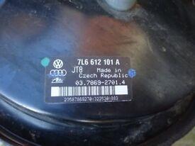 7L6612101A vw touareg 7L brake master cylinder servo booster Vw touareg tdi