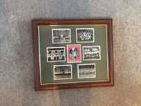 Arsenal photo with frame
