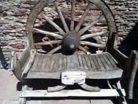 Genuine cartwheel bench