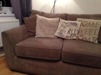 Light grey 2 seater sofa