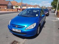 Peugeot 307 (2005) for sale in Poole. Just over 105000 miles