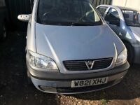 Vauxhall Zafira breaking for parts / spares