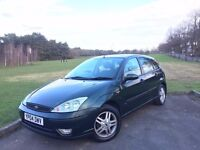 2004 FORD FOCUS 1.6 ZETEC, PETROL, AUTOMATIC, 5-DOOR HATCHBACK***NEW MOT***DRIVES GREAT**ONLY 68,000
