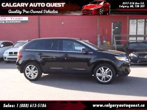 2013 Ford Edge Limited AWD/NAVI/B.CAM/LEATHER