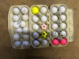 Golf balls X 32