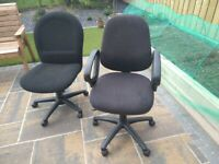 Office chairs. Buy one get on free!!