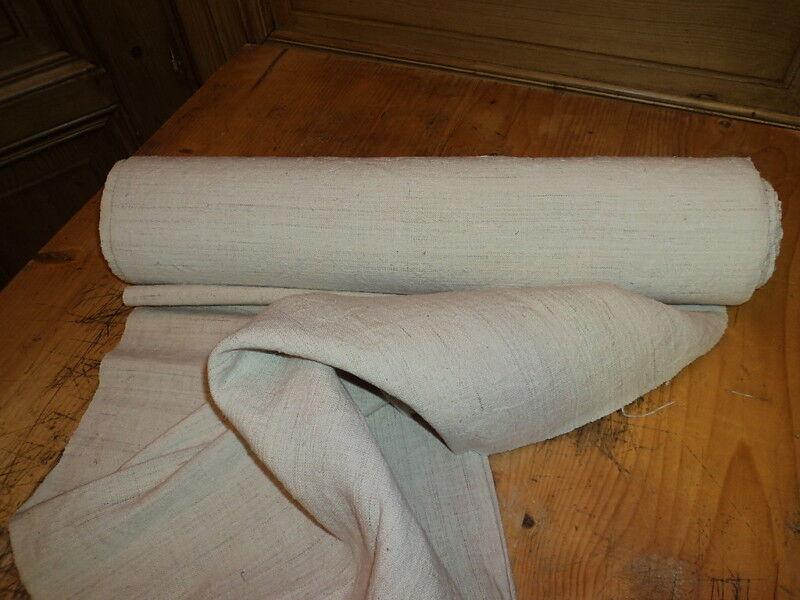 Homespun Linen Hemp/Flax Yardage 11Yds x20