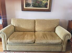 John Lewis sofa. Excellent condition. Width 205cm Depth 92cm Hight= 91cm Pick up only from Greenford