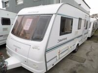 05 COACHMAN PASTICHE 540/4 FIXED BED WITH MOTOR MOVER AND WARRANTY AT BUDGET CARAVANS (LIVERPOOL)