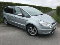 2010 FORD SMAX 1.8 TDCI 110 BHP ZETEC MOT TO OCT FINANCE AVAILABLE MAY PART EX WARRANTY
