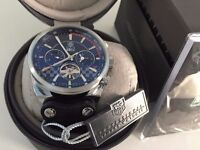 New Swiss Tag Heuer Carrera Tourbillon Automatic Watch, LEATHER STRAP