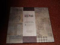 "New Papermania 8x8"" Postbound Scrapbook Album"