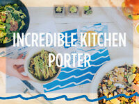 Kitchen Porter / Kitchen Assistant - Bel-Air - East London