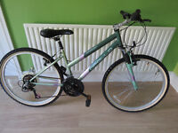 LADIES BIKE, APOLLO VOYGER, GREAT FOR TOWN OR CONTRY.