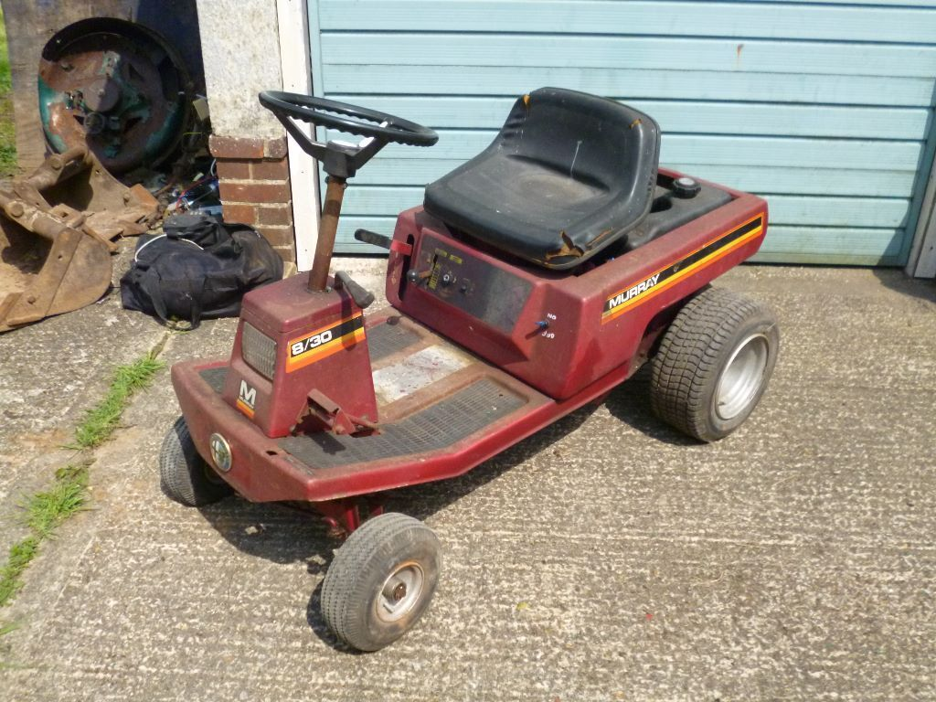 Murray Racing Mower : Murray ride on mower hp briggs no deck needs