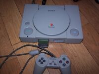 Playstation 1 Console with games etc PS1 PSONE