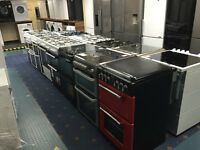 New Ex-Display Electric and Gas Dual Fuel Cooker prices From £199