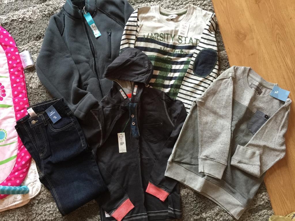 Age 9-10 Bundle of boys clothes (over £70!) all brand new with tags!! Smoke/ pet free house