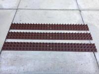 118 x garden fence & wall spikes (the original prickler security strip)