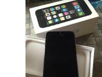 apple iphone 5s black slate 16 gig gb unlocked open o2 02 ee t mobile virgin tesco 3 vodafone