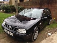 VW GOLF 1.6 for sale