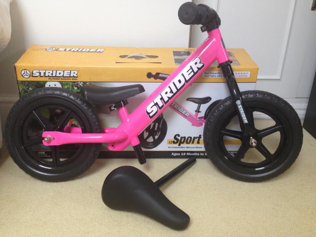 """Balance Bike - lightweight Strider Sport 12"""""""