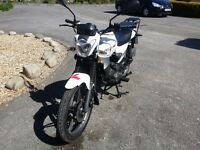 KEEWAY RK 125 Only 250 mileage price reduced need to go