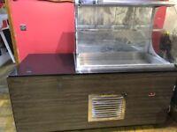 bistro display fridge