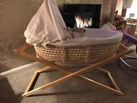 Moses Basket / Crib and Stand
