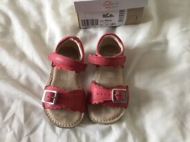 Current season Clark's sandals size 6 1/2F