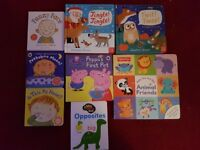 Excellent condition 8 x books for babies/young children