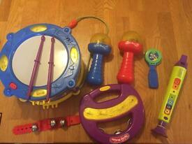 Children's toy instruments