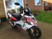 Aprillia sr50 r fully running needs mot, looked after very well