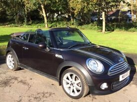 Limited Edition MINI Convertible 1.6 Cooper Highgate 2 door (start/stop) low milage